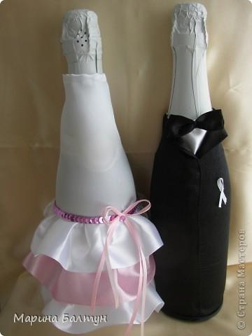 Свадебные бутылочки фото 1