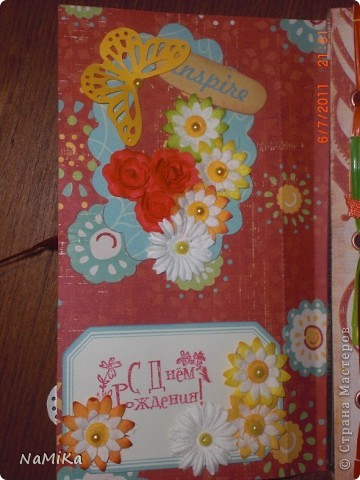 Увидела в СМ такие вот открытки-шоколадницы и  влюбилась. Решила попробовать сделать, да и повод нашелся - сразу два дня рождения. Вот что получилось. фото 12