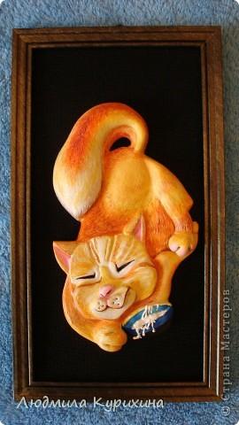 Кот с миской   (взято из картинок интернета, автор не указан) фото 1
