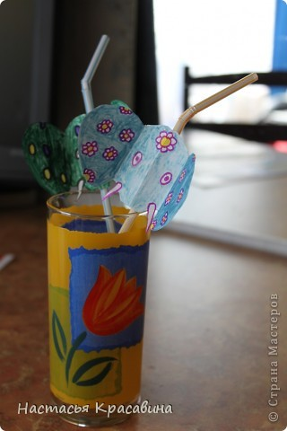 Здравствуйте! Я хочу научить вас делать к празднику эти оригинальные соломинки. фото 1