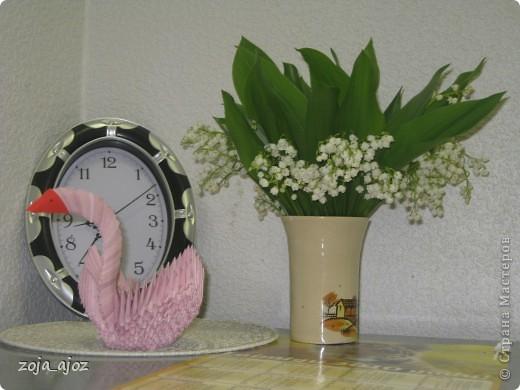 Мои радужные лебеди.Изготовлены в ноябре 2011 года фото 3