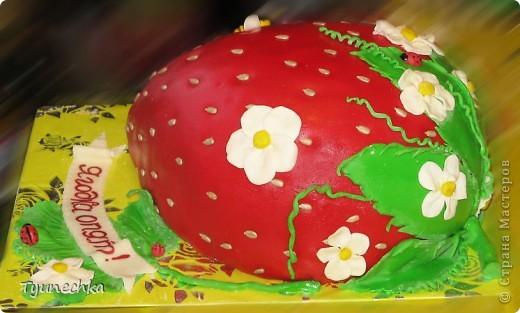 Торт - КЛУБНИЧКА фото 2