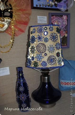Лампа и бутылка фото 1