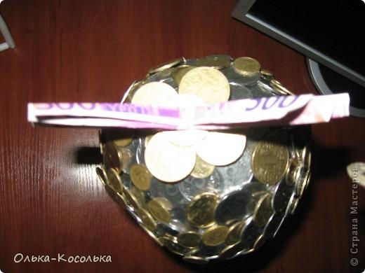 Вот такое денежное дерево я вырастила для своей лучшей подружки - руководителю одного из отделений банка. фото 4