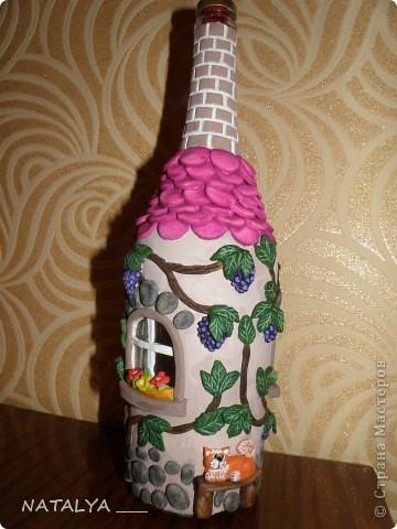 бутылочка по работам ЮЛЫ и АНТАЛИИ,без лака фото 1