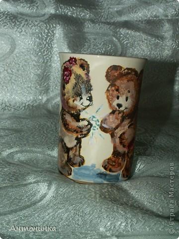 чашечка с колибри  фото 8