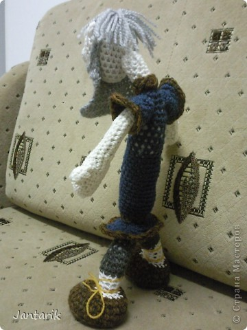 Дедуля создан благодаря luvalensia,она создаёт замечательные куклы. фото 3