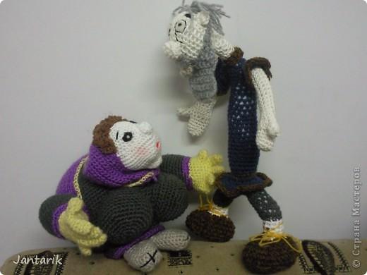 Дедуля создан благодаря luvalensia,она создаёт замечательные куклы. фото 4