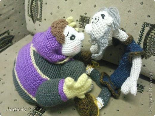 Дедуля создан благодаря luvalensia,она создаёт замечательные куклы. фото 5