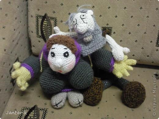 Дедуля создан благодаря luvalensia,она создаёт замечательные куклы. фото 7