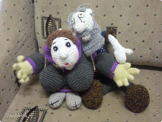 Дедуля создан благодаря luvalensia,она создаёт замечательные куклы. фото 8