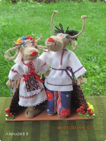 Новая пара. Он русский, она - украинка. Чудесная чета получилась. фото 1