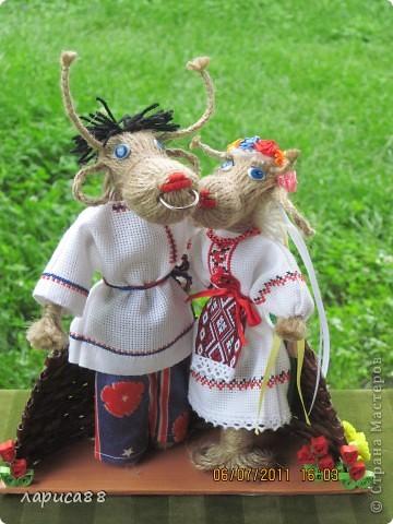 Новая пара. Он русский, она - украинка. Чудесная чета получилась. фото 2