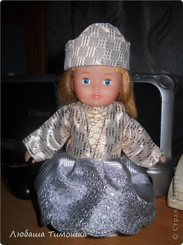 Куколка Алинка фото 1