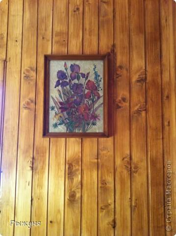 украсила стену дачного дома фото 1