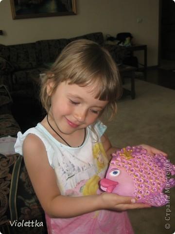 Рыбка Принцеса для маленькой Принцесы (по мотивам Инна-Мина), спасибо большое за идею и пример! фото 5