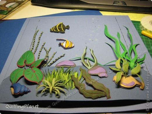 Имею отдельную страсть к композициям, особенно с замахом на натуральность..Поэтому аквариум - это прямо мое-мое:) Делала с вдохновением, до сих пор люблю эту работу:) В описании постараюсь подробно коснуться деталей.. фото 28