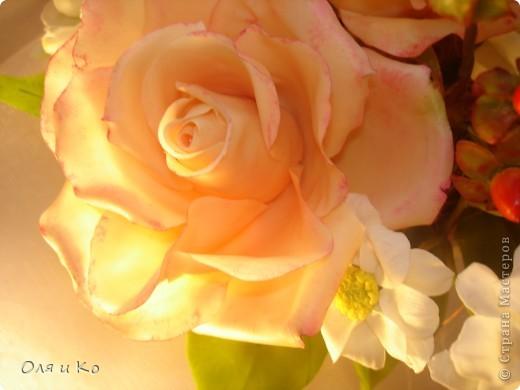 Представляю на Ваш суд свой новый букет из роз и хризантем. фото 7