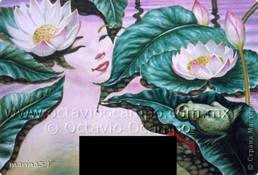 работа по картине Октавио Окампо фото 3
