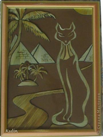 В Египте побывать пока не пришлось, но можно ведь и помечтать...(20х30) работа мл.дочери