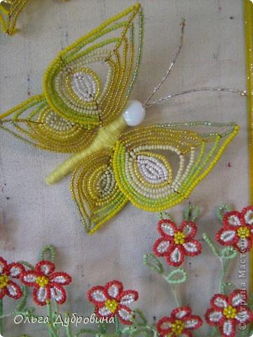 """Очень люблю делать бабочек. Бабочки и цветы - это очень близко. В результате появилась такая композиция. Я бы назвала её """"Летний луг"""". фото 2"""