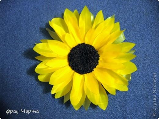 Цветы из ткани. фото 1