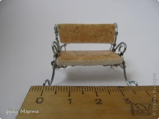 Скамеечка для макета в детсад. фото 2