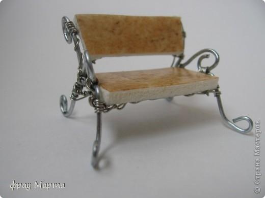 Скамеечка для макета в детсад. фото 1