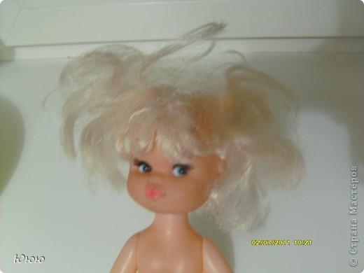 Куклы Мастер-класс Волосы для Мальвины Ленты фото 2