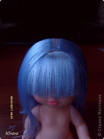 Куклы Мастер-класс Волосы для Мальвины Ленты фото 11
