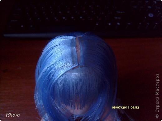 Куклы Мастер-класс Волосы для Мальвины Ленты фото 12