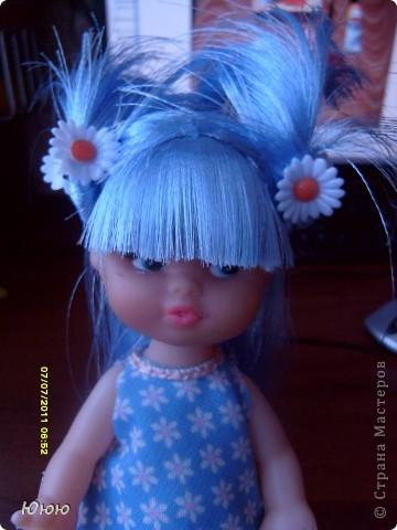 Куклы Мастер-класс Волосы для Мальвины Ленты фото 14