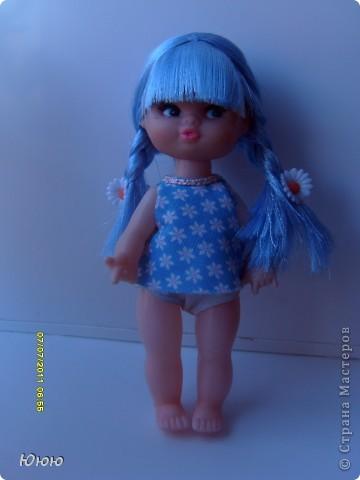 Куклы Мастер-класс Волосы для Мальвины Ленты фото 15