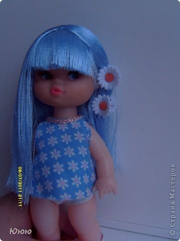 Куклы Мастер-класс Волосы для Мальвины Ленты фото 17
