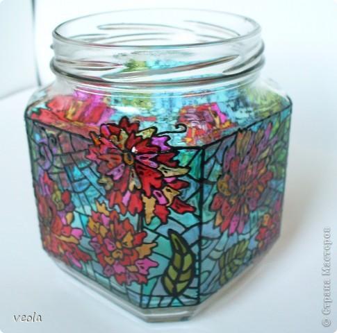 Цветущая баночка фото 1