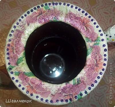 Нашла давно заброшенный чайничик от старого сервиза пошаманила над ним и вот результат. фото 10