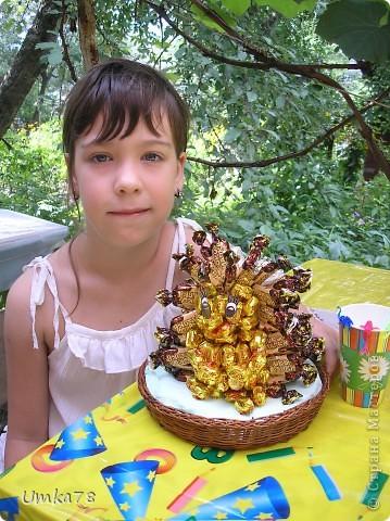 """В канун Дня рождения моей доченьки я спросила её, кого она хотела бы встретить в её праздник. Доча сказала """"ёжика"""". Все случилось именно так. Этот ёжик пришёл поздравить мою Машеньку с 9-ым Днем рождения! фото 3"""