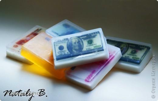 Вот такие мыльные денежки у меня намыловарились ))))) фото 1