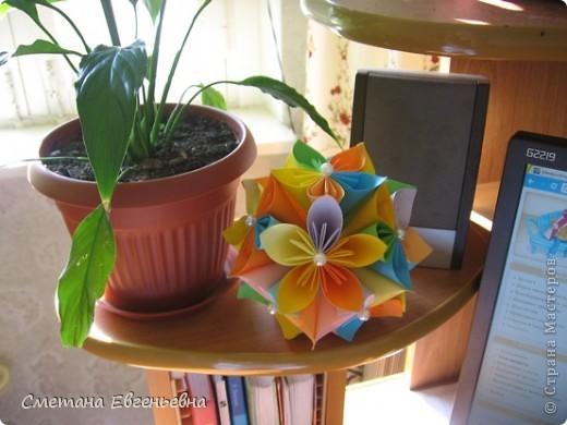 Первая работа по оригами.