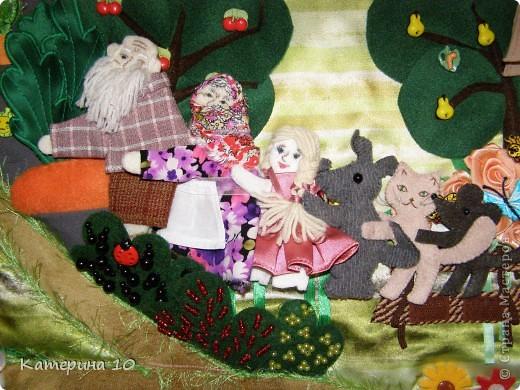 """Коврик """"В гостях у бабушки"""" для моего сыночка Никиты.   фото 6"""