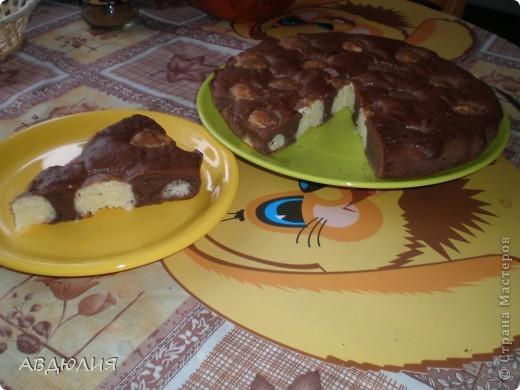 Шоколадный пирог с творожно-кокосовыми шариками+мини МК!! фото 1