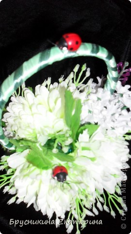 в основе мыло. ленты. булавки. цветы. запах сирень фото 9