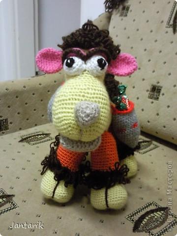 У моей подруги скоро день рождения и увидев верблюжонка от Елены Беловой,я подумала,что это будет неплохой подарок. фото 1