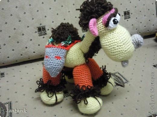 У моей подруги скоро день рождения и увидев верблюжонка от Елены Беловой,я подумала,что это будет неплохой подарок. фото 2