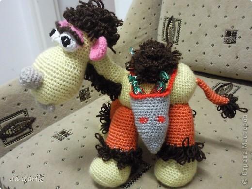 У моей подруги скоро день рождения и увидев верблюжонка от Елены Беловой,я подумала,что это будет неплохой подарок. фото 3