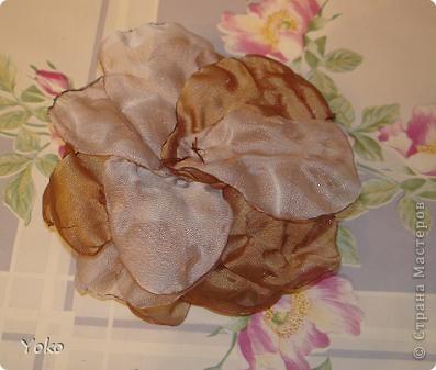 В доверщение темки про цветы из ткани встал вопрос: а как их крепить????? Покажу, как это делаю я. Итак нам понадобится: ножницы, нитка с иголкой, резиновая нитка - не знаю как точно называется, продается для бусиков и браслетов. фото 2