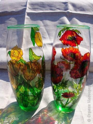 Сегодня я с вазами. фото 8