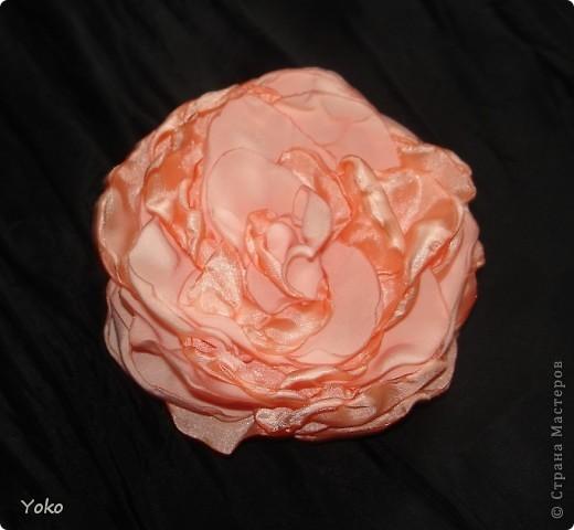 Есть у меня цветок покупной из магазина за 200 р - очень я его люблю!!!!!! Насмотрелась я на красивейшие цветы, которые делают рукодельницы и подумала: можно же и самой сделать прекрасные украшения и причем - бесплатно. Насмотрелась много мастер-классов и тоже попробовала.......и ПОНЕСЛО......... Покажу, как их делаю я: фоторепортаж с маста события. Итак, начнем: фото 17
