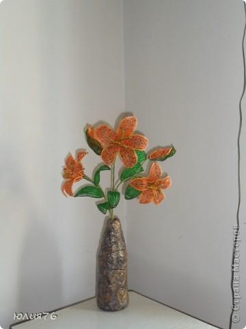 выполнена в технике  плетение дугами  фото 3