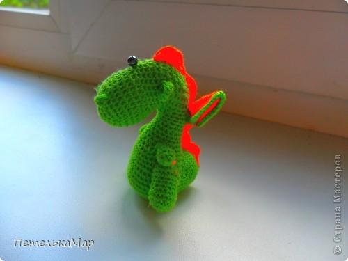 УРА!!! Я довязала дракош! фото 5